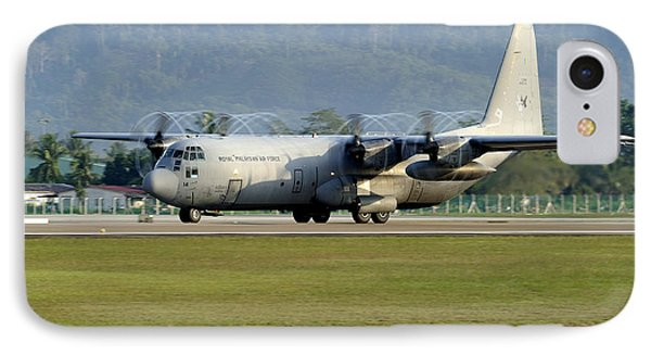 A C-130j Hercules Of The Royal Phone Case by Remo Guidi