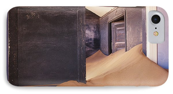 Abandoned House Filled With Drifting Sand Phone Case by Jeremy Woodhouse