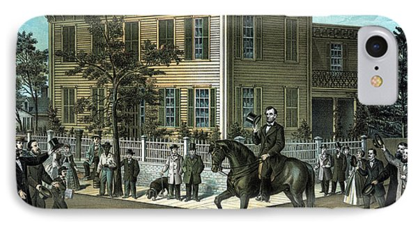 Abraham Lincoln's Return Home IPhone Case by War Is Hell Store