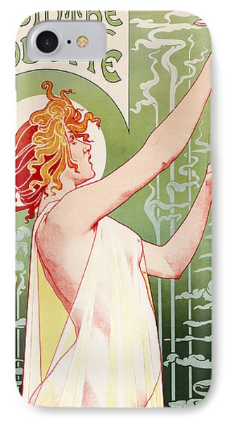Absinthe Robette IPhone 7 Case by Henri Privat-Livemont