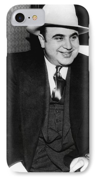 Al Capone IPhone Case by American School