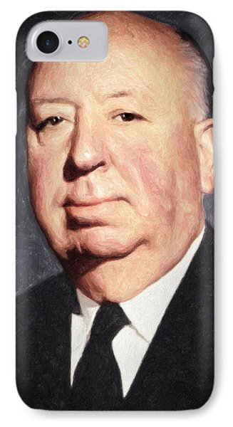 Alfred Hitchcock IPhone Case by Taylan Soyturk