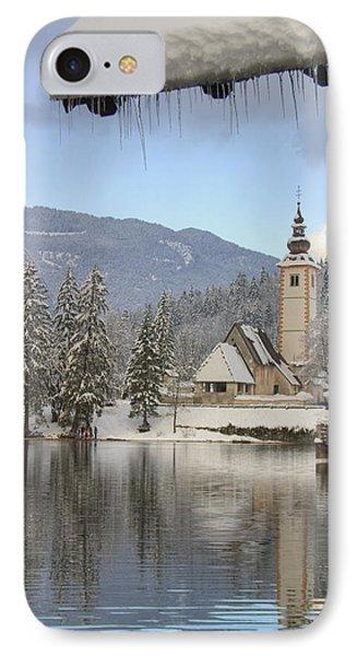 Alpine Winter Clarity Phone Case by Ian Middleton