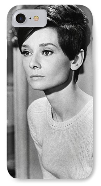 Audrey Hepburn (1929-1993) Phone Case by Granger