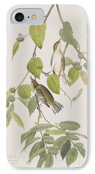 Autumnal Warbler IPhone 7 Case by John James Audubon