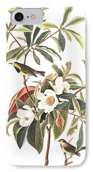 Bachman's Warbler  IPhone 7 Case by John James Audubon