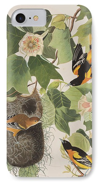 Baltimore Oriole IPhone 7 Case by John James Audubon