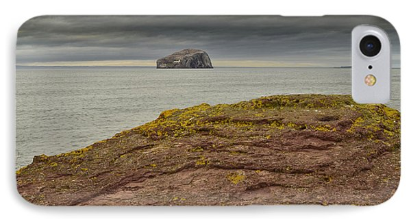 Bass Rock IPhone Case by Nichola Denny