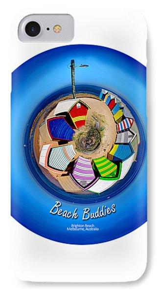 Beach Buddies  IPhone Case by Az Jackson