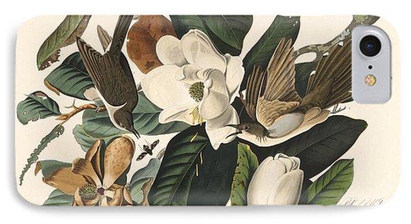 Black-billed Cuckoo IPhone 7 Case by John James Audubon