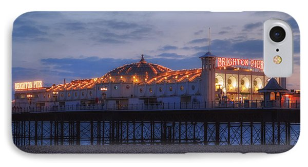 Brighton At Night IPhone Case by Joana Kruse