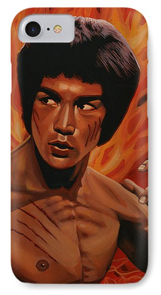 Bruce Lee Enter The Dragon IPhone 7 Case by Paul Meijering