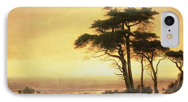 California Coast Phone Case by Albert Bierstadt