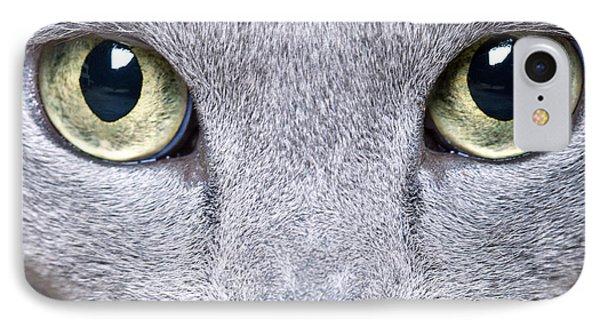 Cat Eyes IPhone Case by Nailia Schwarz