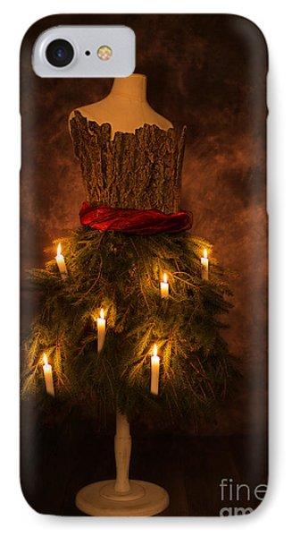 Christmas Candles IPhone Case by Amanda Elwell