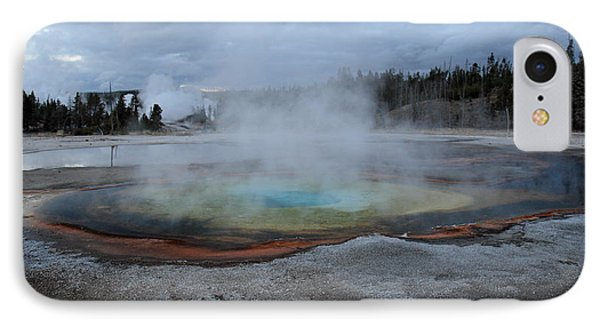 Chromatic Pool Yellowstone Phone Case by Pierre Leclerc Photography