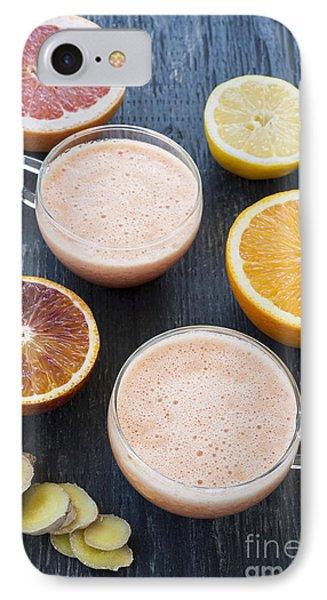 Citrus Smoothies IPhone 7 Case by Elena Elisseeva