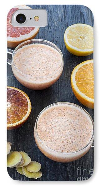 Citrus Smoothies IPhone Case by Elena Elisseeva