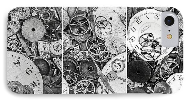 Clockworks Still Life IPhone Case by Tom Mc Nemar