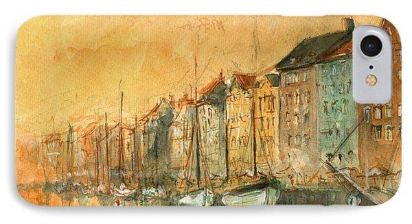 Copenhagen IPhone Case by Juan Bosco