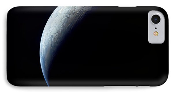 Crescent Earth Taken From The Apollo 4 Phone Case by Stocktrek Images