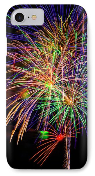 Dazzling Fireworks IPhone Case by Garry Gay