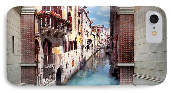 Dreaming Of Venice Panorama IPhone Case by Az Jackson
