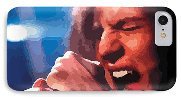 Eddie Vedder Phone Case by Gordon Dean II