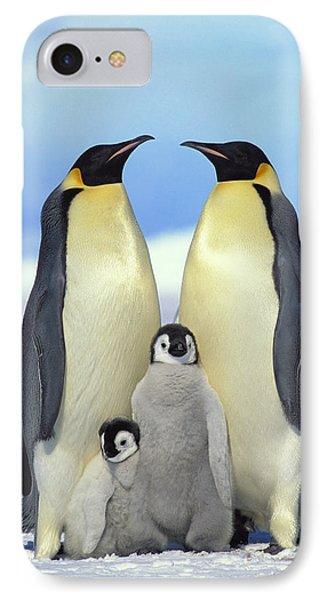 Emperor Penguin Aptenodytes Forsteri IPhone 7 Case by Konrad Wothe