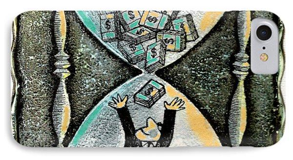 Financial Planning IPhone Case by Leon Zernitsky