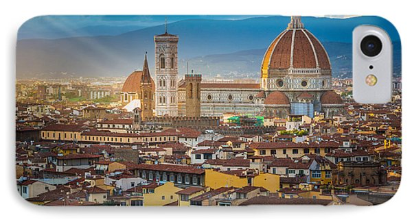 Firenze Duomo Phone Case by Inge Johnsson