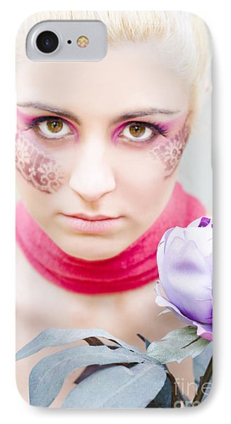 Flower Girl IPhone Case by Jorgo Photography - Wall Art Gallery