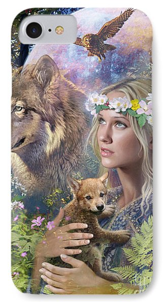 Forest Friends IPhone Case by Steve Read
