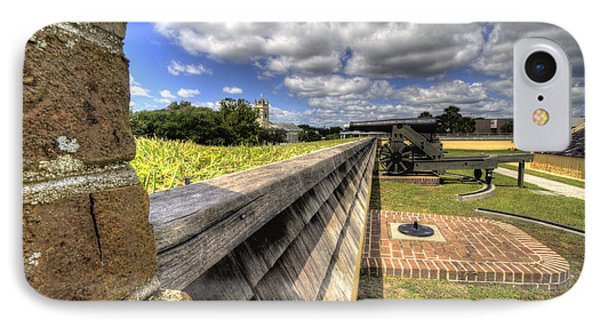 Fort Moultrie Cannon IPhone Case by Dustin K Ryan