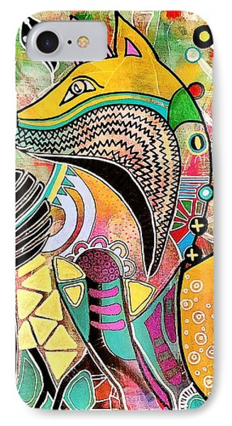 Fox IPhone Case by Amy Sorrell