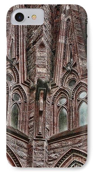 gaudi Barcelona IPhone Case by Tom Prendergast