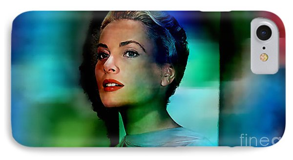 Grace Kelly IPhone Case by Marvin Blaine