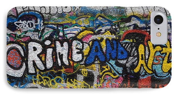 Grafitti On The U2 Wall, Windmill Lane IPhone Case by Panoramic Images
