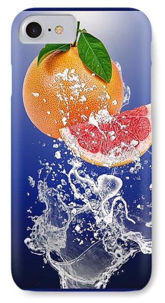 Grapefruit Splash IPhone Case by Marvin Blaine