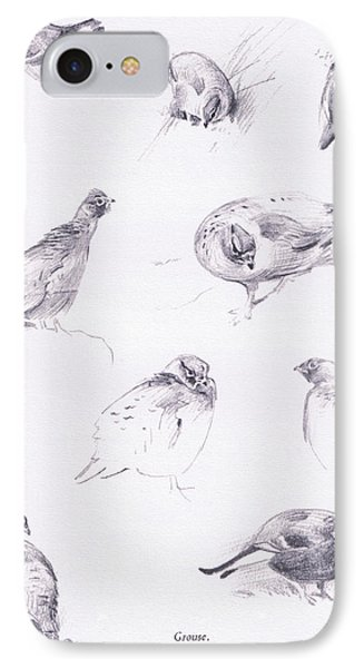 Grouse IPhone Case by Archibald Thorburn