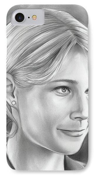 Gwyneth Paltrow IPhone Case by Greg Joens
