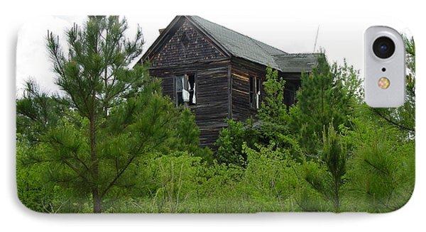 Haunted House Phone Case by Quwatha Valentine