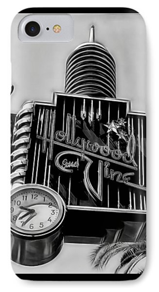 Hollywood And Vine Street Sign Collection IPhone Case by Marvin Blaine
