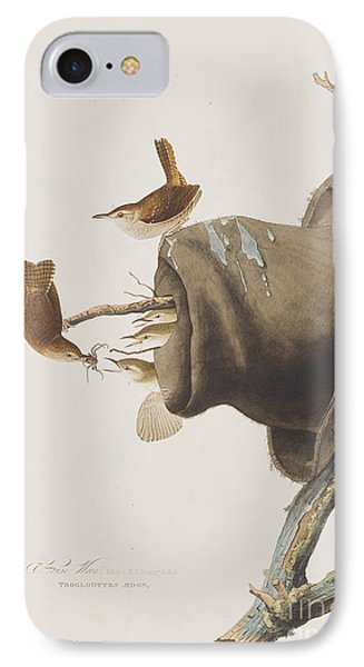House Wren IPhone 7 Case by John James Audubon