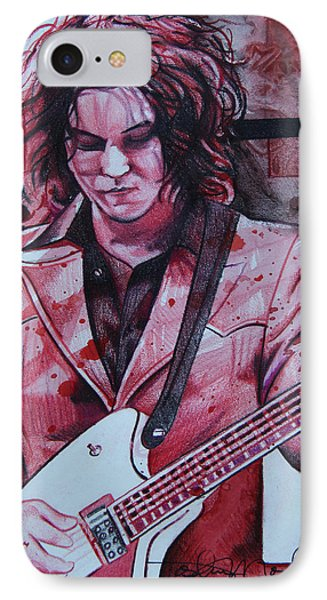 Jack White Phone Case by Joshua Morton