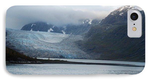 John Hopkins Glacier Phone Case by Michael Peychich