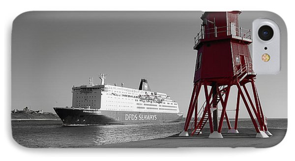 Just Arriving IPhone Case by Nichola Denny