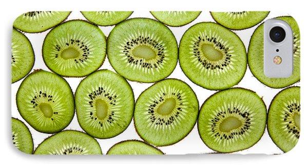 Kiwifruit IPhone 7 Case by Nailia Schwarz