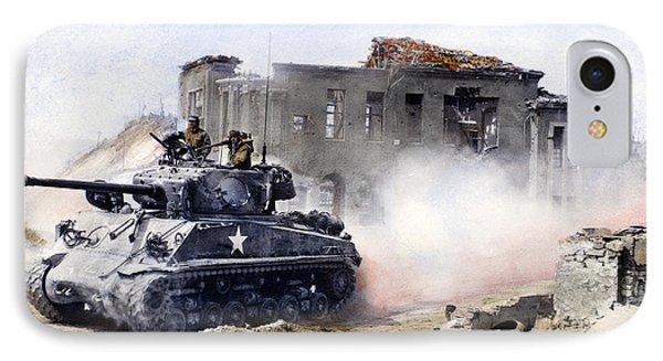 Korean War: Tank, 1951 Phone Case by Granger