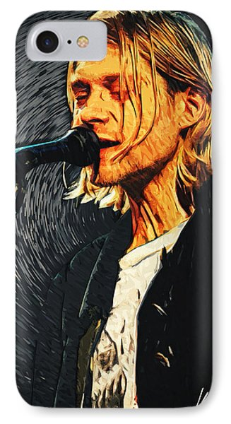Kurt Cobain IPhone Case by Taylan Soyturk